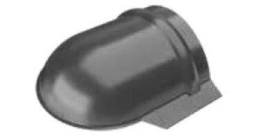 Čelo ukončení hřebenáče intenzivně černé RAL 9005 s prolisem lesklé(10301)
