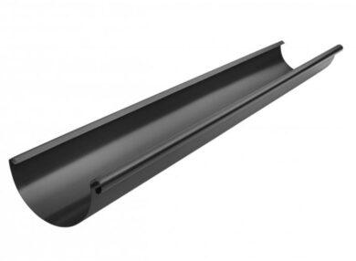 Žlab pozinkovaný černý 330 mm, délka 4 m(10348)