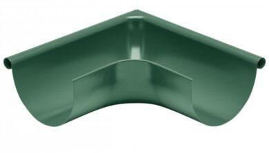 Roh pozinkovaný mechově zelený 330 mm vnější(10869)