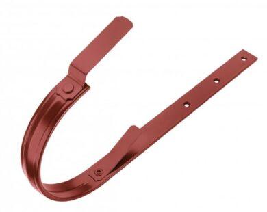 Hák pozinkovaný ocelově červený 400/610 mm, pás. 30/6 mm(1676)