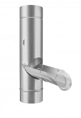 Zachytávač vody pozinkovaný  80 mm(2224)