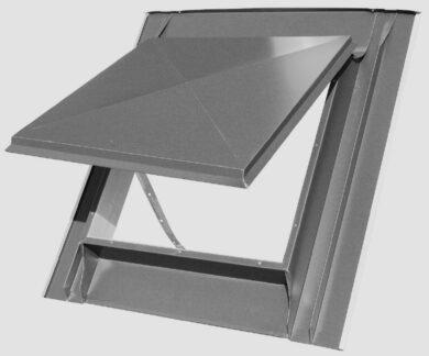 Vylézák měděný 60 x 60 cm, celoplechový(2652.)