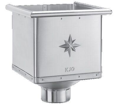 Kotlík pozinkovaný sběrný kubický  80 mm(361)