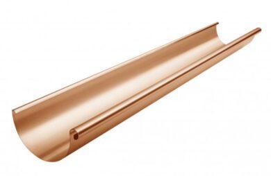 Žlab měděný 250 mm, délka 5 m(4500)