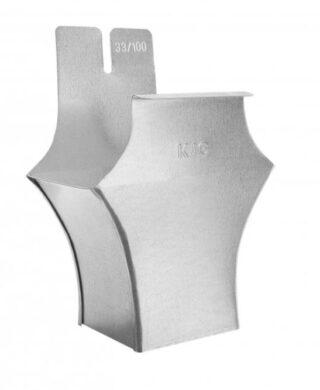 Kotlík pozinkovaný hranatý 400/120 mm(6352)