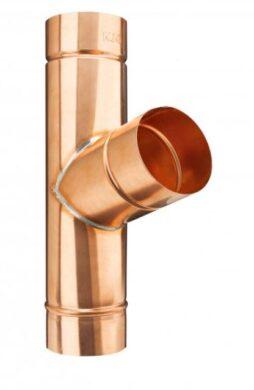 Odbočka svodu měděná  80/ 80 mm(6505)
