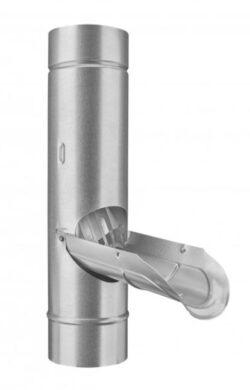 Zachytávač vody pozinkovaný  80 mm se sítkem(826)