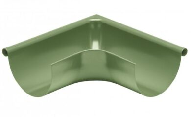 Roh pozinkovaný trávově zelený 250 mm vnější(9296)