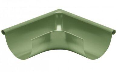 Roh pozinkovaný trávově zelený 400 mm vnější(9299)