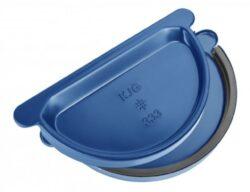 Čílko pozinkované modré 280 mm s gumou