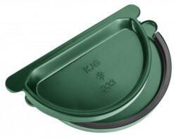 Čílko pozinkované mechově zelené 330 mm s gumou