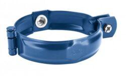 Objímka pozinkovaná modrá 120 mm, bez hrotu, s metrickým závitem M10