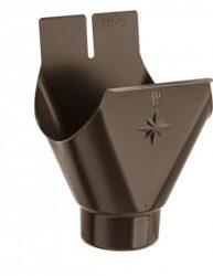 Kotlík hliníkový hnědý 330/120 mm
