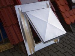 Vylézák pozinkovaný 60 x 60 cm, celoplechový