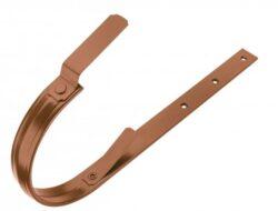 Hák hliníkový měděno hnědý 400/610 mm, pás. 30/8 mm