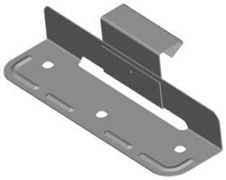 Příponka posuvná nerezová komplet  32/55 mm