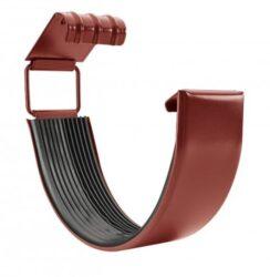 Spojka žlabu pozinkovaná ocelově červená 250 mm