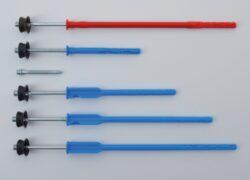 hmoždinka modrá (bez lamely) délka 120 mm(1864)