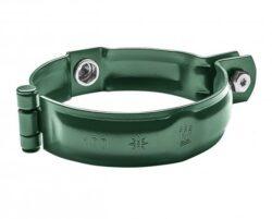 Objímka hliníková mechově zelená 100 mm bez hrotu, s metrickým závitem M10