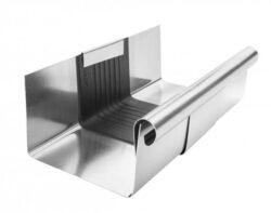 Žlab dilatační titanzinkový  r.š. 400 mm, délka 260 mm