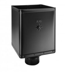 Kotlík pozinkovaný sběrný DESIGN černý 120 mm excentrický