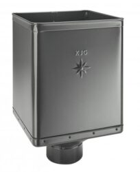 Kotlík pozinkovaný sběrný DESIGN antracit 120 mm excentrický