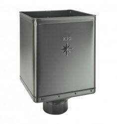 Kotlík pozinkovaný sběrný DESIGN antracit 120 mm