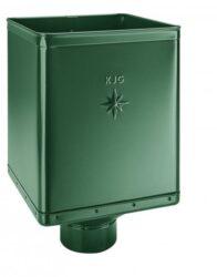 Kotlík pozinkovaný mechově zelený 400/150 mm