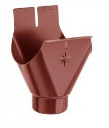 Kotlík hliníkový ocelově červený 330/100 mm