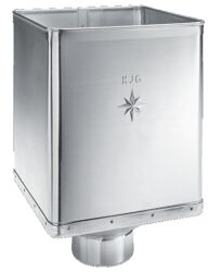 Kotlík pozinkovaný sběrný DESIGN excentrický 100 mm