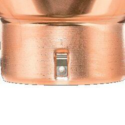 Kotlík měděný sběrný kubický excentrický   80 mm(2832)