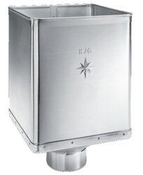 Kotlík pozinkovaný sběrný DESIGN excentrický  80 mm