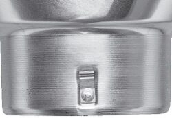 Kotlík pozinkovaný sběrný DESIGN excentrický  80 mm(2896)