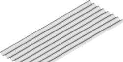 plech pozinkovaný 0,50 x 800 x 2000 mm vlnitý