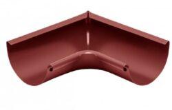 Roh hliníkový ocelově červený 250 mm vnitřní