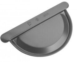 Čílko hliníkové antracit 400 mm