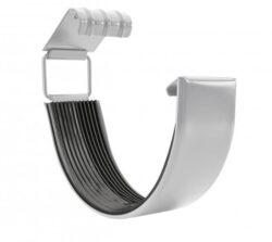 Spojka žlabu pozinkovaná bílo hliníková 250 mm
