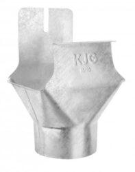 Kotlík pozinkovaný hranatý 330/100 mm na kulatý svod