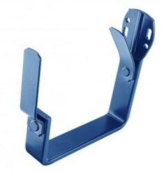 Hák hliníkový hranatý do krokve modrý 330 mm