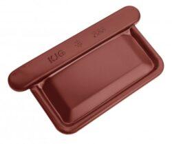 Čílko pozinkované hranaté ocelově červené 400 mm