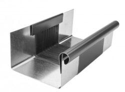 Žlab dilatační pozinkovaný antracit r.š. 330 mm, délka 260 mm