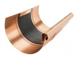 Dilatační žlab měděný 330 mm, délka 260 mm