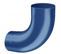 Koleno pozinkované modré 100/85 st. lisované