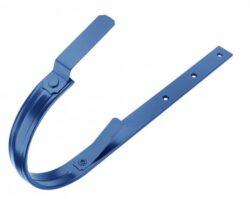 Hák pozinkovaný modrý 200/380 mm, pás. 25/5 mm