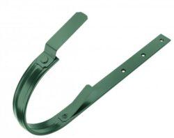 Hák pozinkovaný mechově zelený 250/430 mm, pás. 25/5 mm
