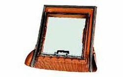 BRAMAC okno Luminex UNI 70,5 x 76,5 cm (otvor 48 x 51 cm)