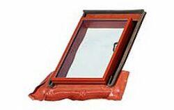 BRAMAC okno Luminex TOP 70 x 100 cm (otvor 48,5 x 72,5 cm) hnědé