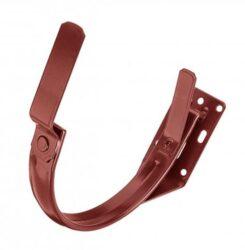 Hák pozinkovaný ocelově červený 250 mm do čela krokve
