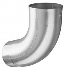 Koleno hliníkové přírodní 120 mm /72 st.