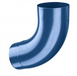 Koleno pozinkované modré 100/72 st. lisované